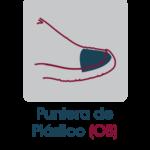 puntera de plástico (OB)