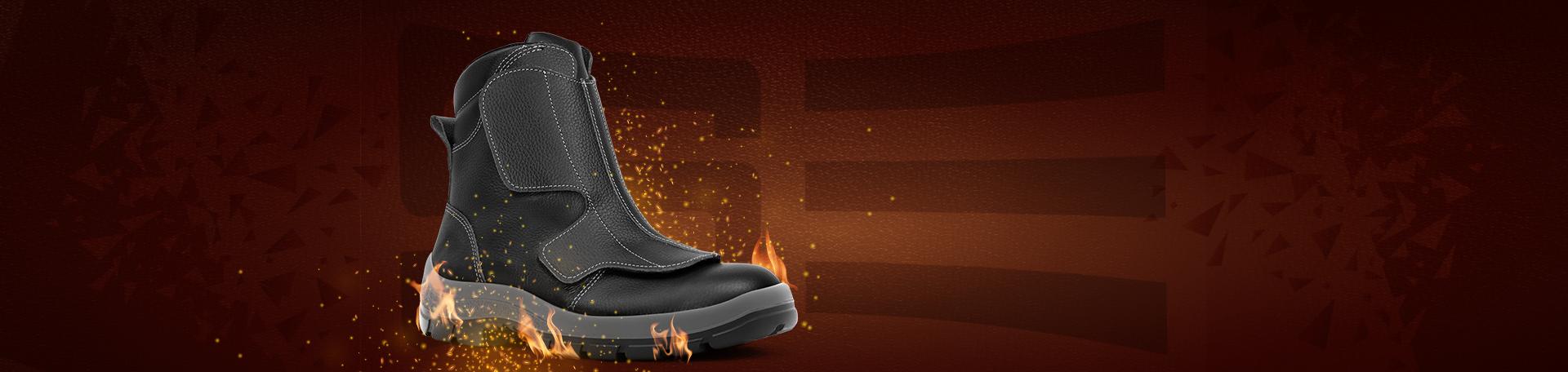 calzado de seguridad para altas temperaturas