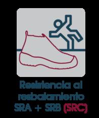 resistencia al rebajamiento SRA y SRB