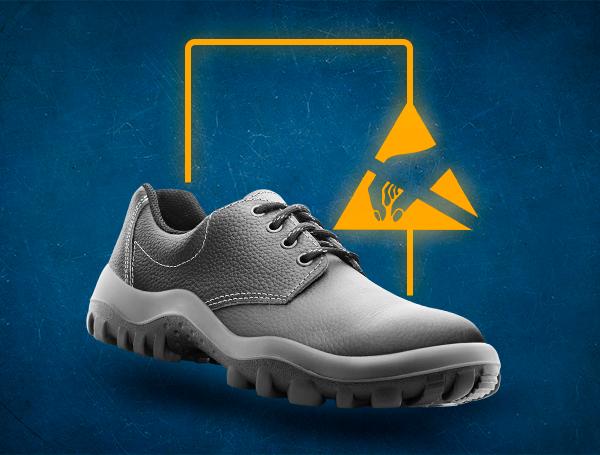 calzado de seguridad antiestatico