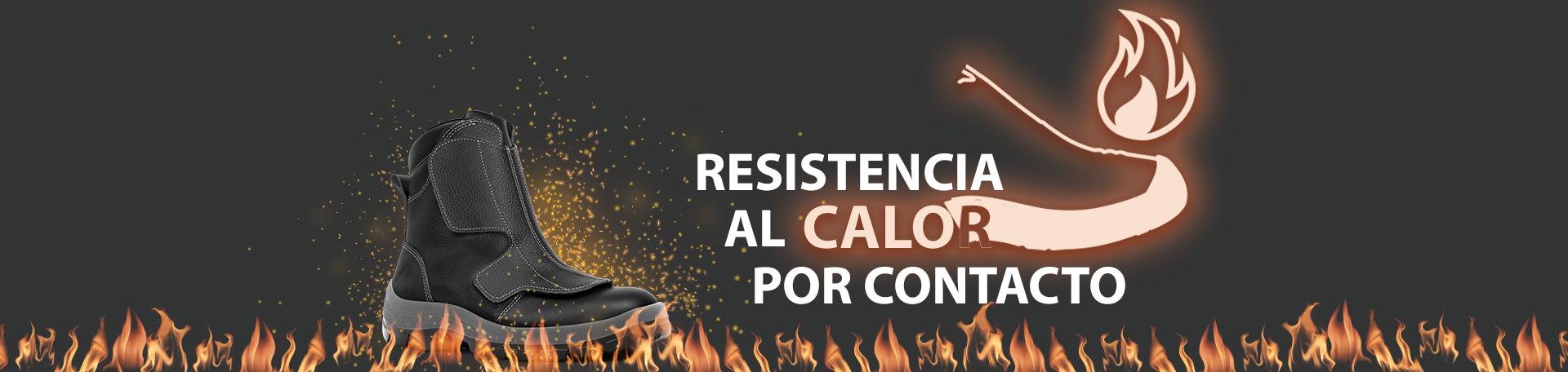 calzado de seguridad resistente al calor por contacto